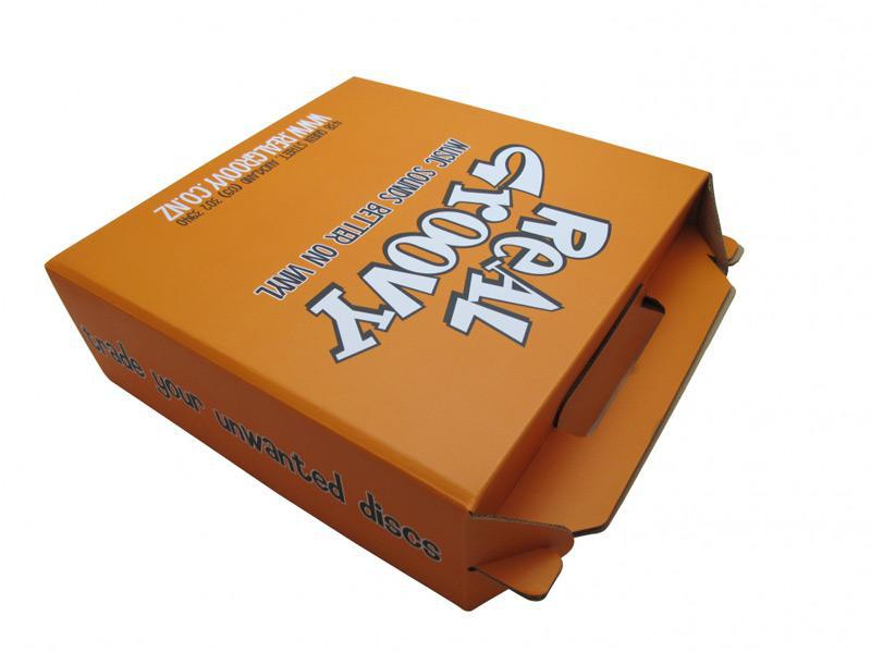 gable box auto bottom  paper packaging printing  weida