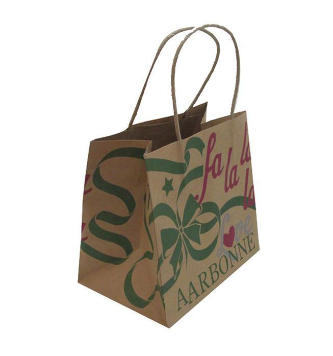 kraft paper carrier bag  paper bag printing  weida